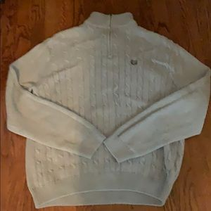 Men's Chaps Sweater in Gray color